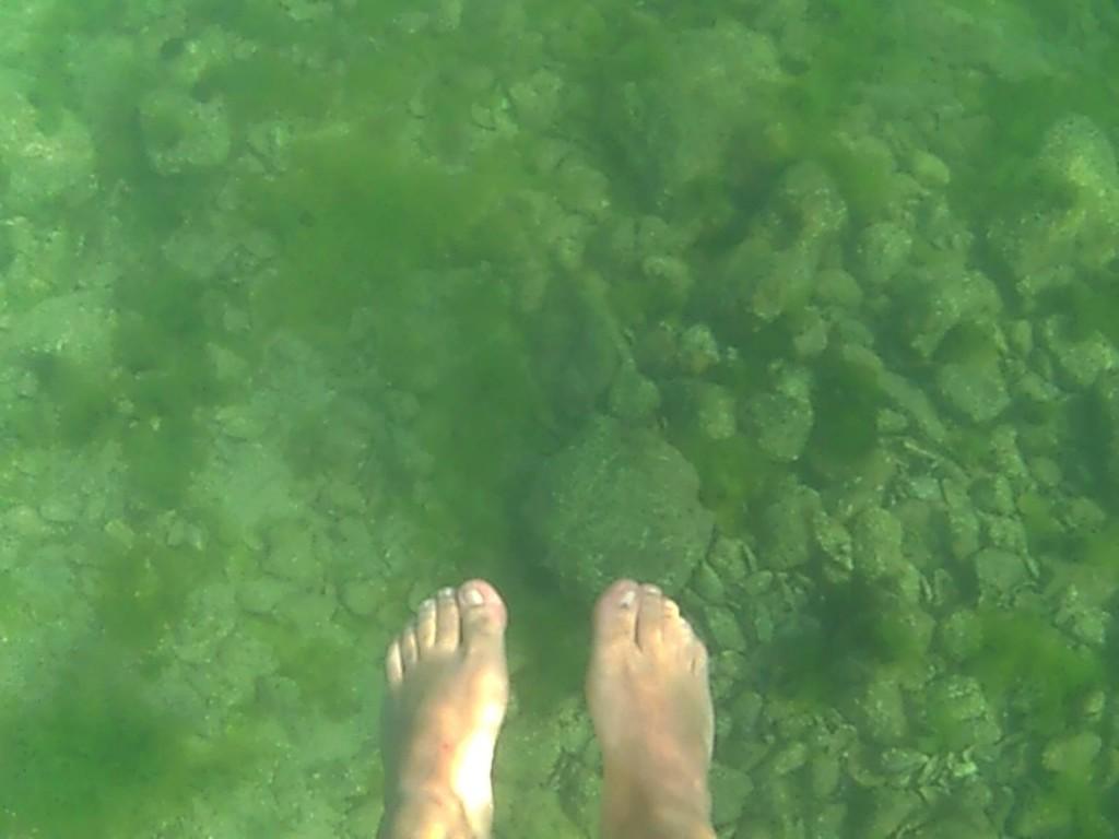 Şezlong da neymiş? Deniz dururken...