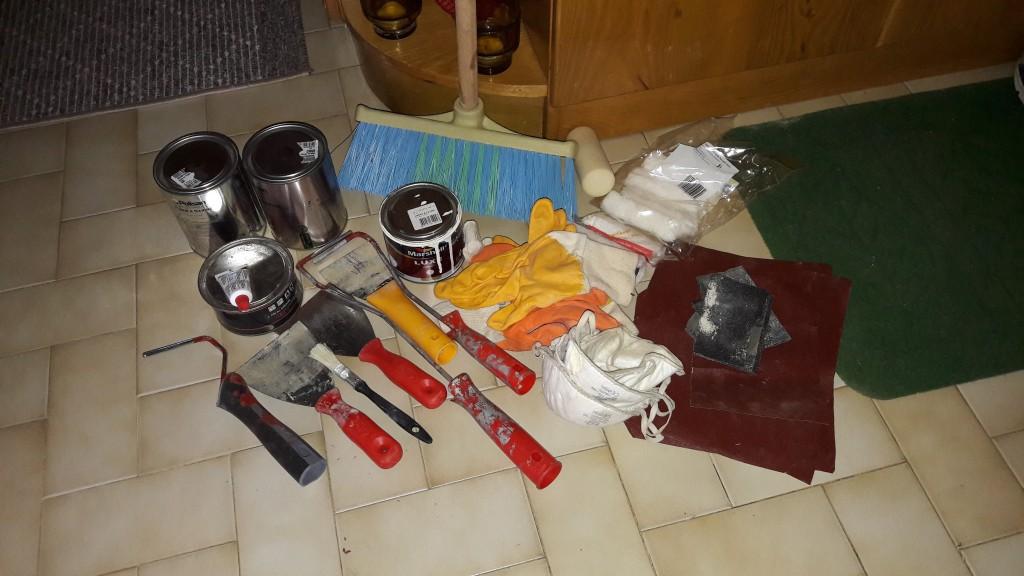 Temizlik Boya Bakım Hazırlıkları
