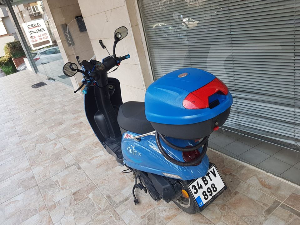 Falcon Soft 50cc Scooter